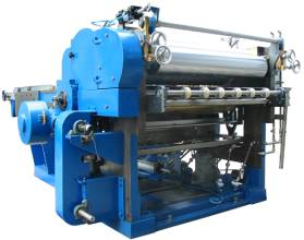 Metal coating machine