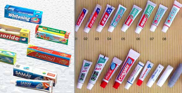 toothpaste packaging